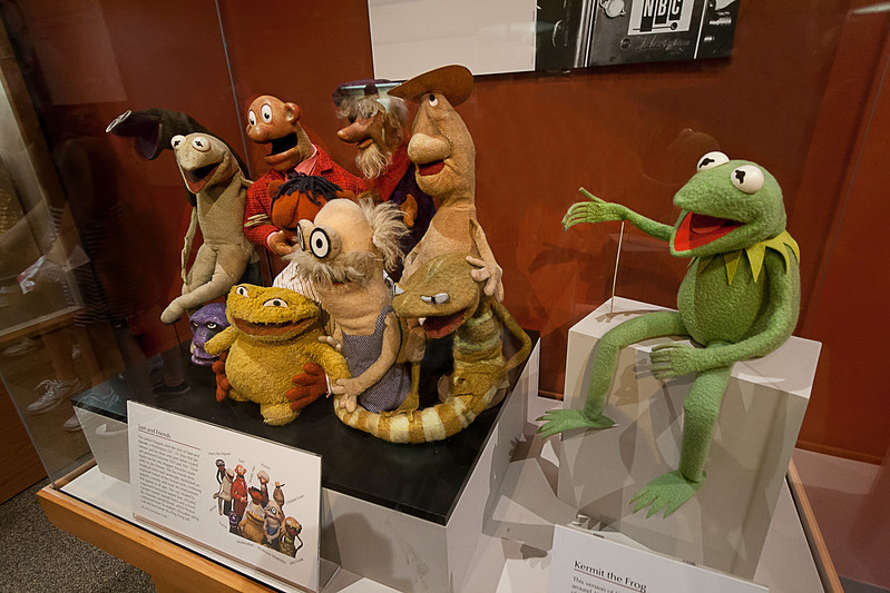 Sam and Friends was Jim Henson's first television show, a five-minute show that aired twice daily on WRC-TV, the NBC affiliate in Washington, D.C. The show ran from May 9, 1955 to December 15, 1961. In 2010, these 10 characters joined Kermit at the Smithsonian's National Museum of American History in Washington D.C. Photo by Tim Stanley Photography.