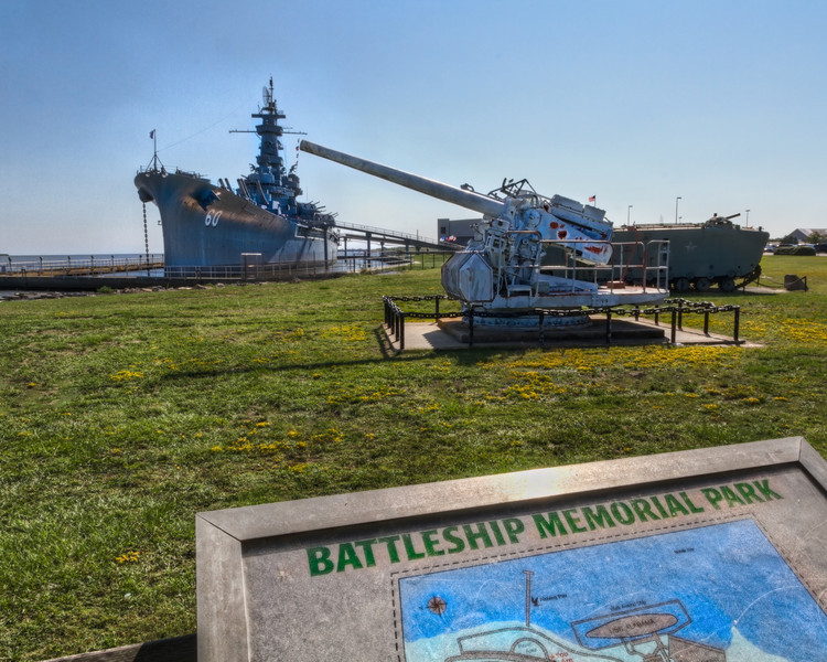 At Battleship Memorial Park, you will find a great collection of tanks, airplanes, a submarine and the Battleship USS Alabama. Photo by Tim Stanley Photography.