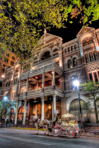 The Driskill Hotel, completed in 1886,is the oldest operating hotel in Austin and one of the oldest in Texas. Photo by Tim Stanley Photography.