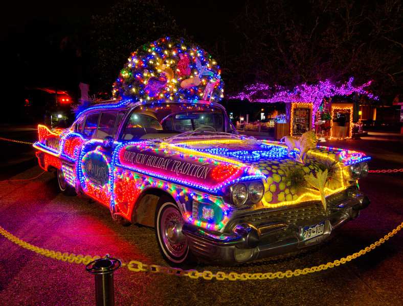 The Houston Zoo has a new event for the holidays. They light up the trees and special attractions in over a million lights. Zoo Lights creates quite a site as you roam about at night and is a treat for all ages. Photo by Tim Stanley Photography.