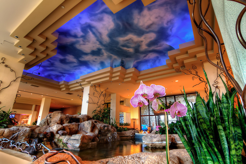 I'm not in the hotel business, but once in a while I see a hotel lobby that I think would make an interesting photo. Such was the case with the Moody Gardens Hotel on Galveston Island. Photo by Tim Stanley Photography.