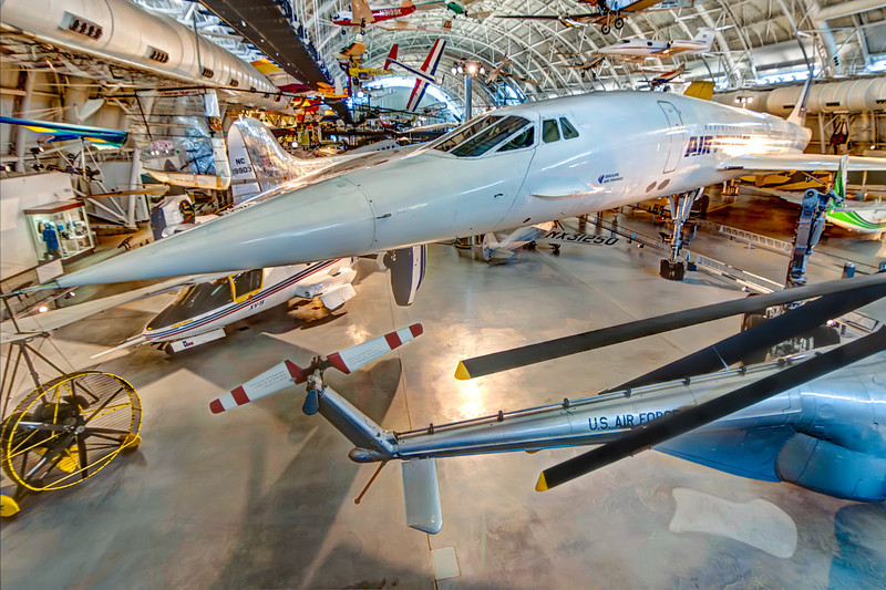 The first supersonic airliner to enter service, the Concorde flew thousands of passengers across the Atlantic at twice the speed of sound for over 25 years. Photo by Tim Stanley Photography.
