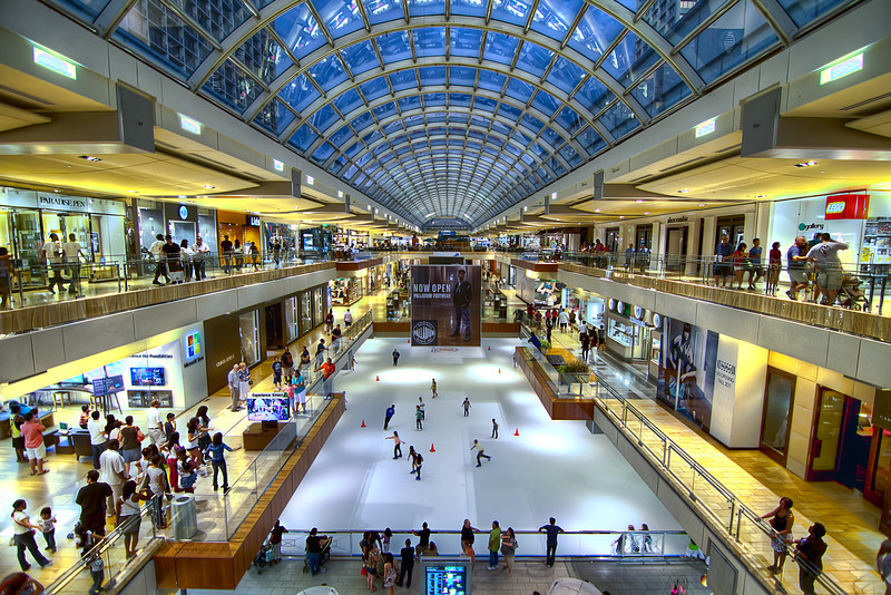 With over 375 stores, the Galleria is the largest mall in Texas and seventh-largest in the United States. Photo by Tim Stanley Photography.