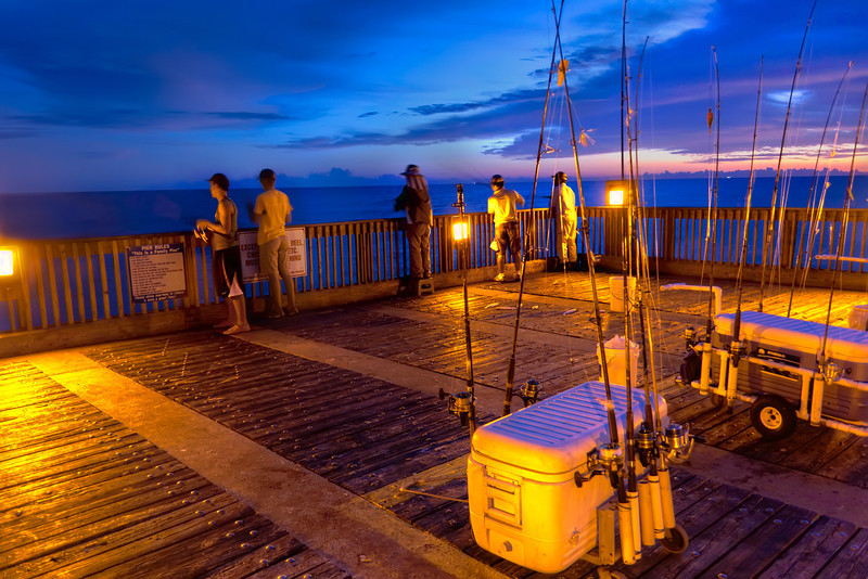 Whether fishermen come for the sport, or simply the peace, beauty and relaxation, you find yourself fishing late into the night, not wanting to leave. Photo by Tim Stanley Photography.